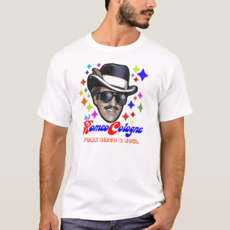DJロミオケルンファンのTシャツ(大きい頭部) Tシャツ