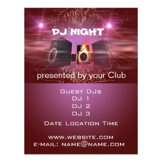 DJ夜 チラシ