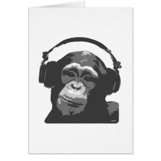 DJ猿 グリーティングカード