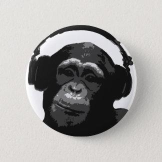 DJ猿 缶バッジ
