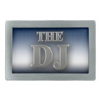 DJ 長方形ベルトバックル
