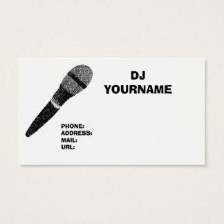 DJ BUSINESS CARD 名刺