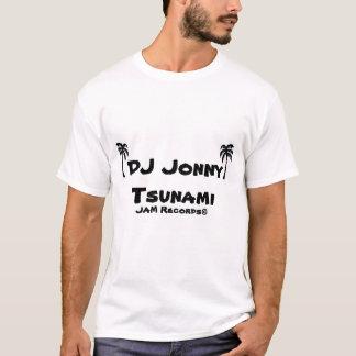 DJ Jonnyの津波 Tシャツ