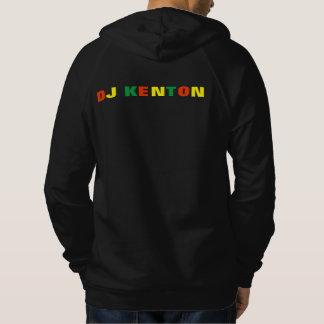DJ KentonのRiddimは無線の人のフード付きスウェットシャツを定着させます パーカ