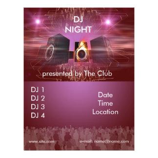 dj_night_dance_flyer チラシ