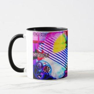 DJCyberWear Hegira マグカップ