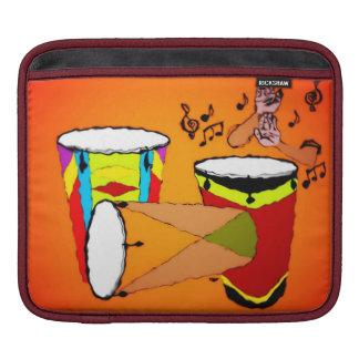 DjembeはiPadの袖をドラムをたたきます iPadスリーブ