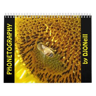 DJONeill 2著Phonetographyの電話芸術 カレンダー