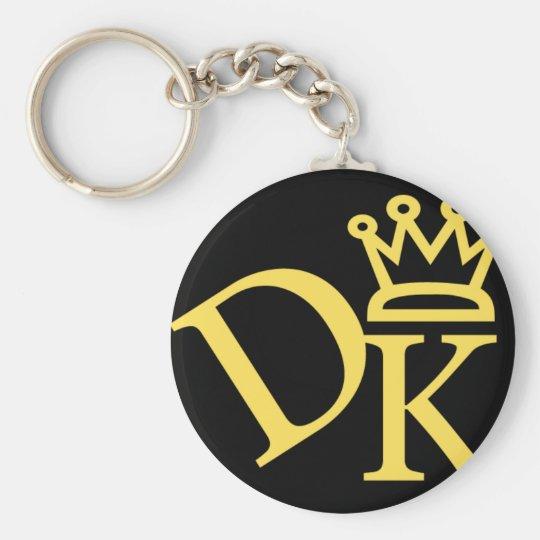 dkの王冠のロゴ キーホルダー zazzle co jp