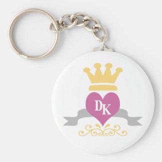 DKのハートのロゴ キーホルダー
