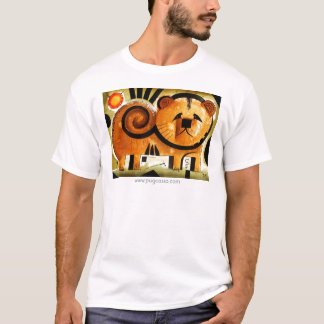 dk_2005aug8mのwww.pugcasso.comのチャウチャウのワイシャツ tシャツ