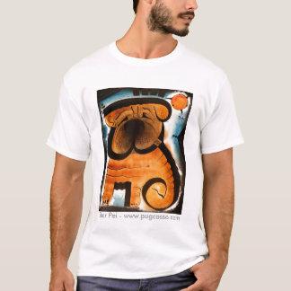 dk_2007dec31g、Shar Pei - www.pugcasso.com Tシャツ