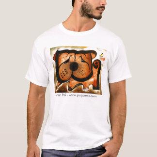 dk_2008dec9a、Shar Pei - www.pugcasso.com Tシャツ