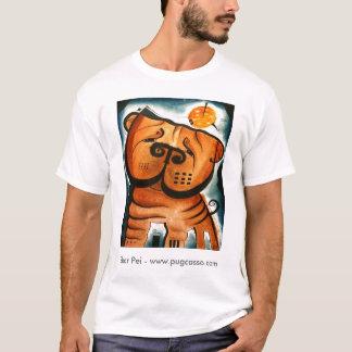 dk_2008june22a、Shar Pei - www.pugcasso.com Tシャツ
