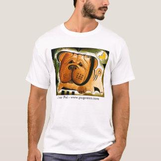 dk_2008may6i、Shar Pei - www.pugcasso.com Tシャツ