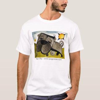 dk_2009july13z9a、Shar Pei - www.pugcasso.com Tシャツ