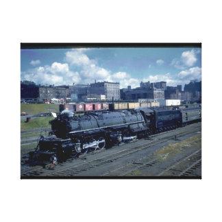 DM&IR 2-8-8-4の木槌#224_Trains キャンバスプリント