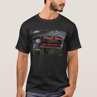 """D'Ment'Dの映画館の""""エイリアンの攻撃""""のデラックスで黒いティー Tシャツ"""