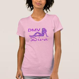 DMVの花型女性歌手のTシャツ Tシャツ