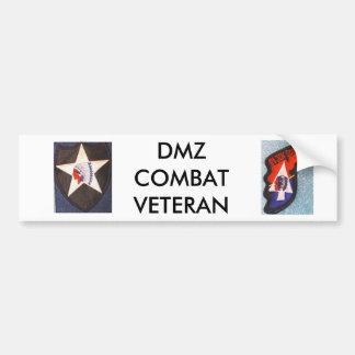 DMZの戦闘の退役軍人 バンパーステッカー
