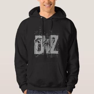 DMZ (黒で) パーカ