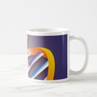 DNAのスポットライト コーヒーマグカップ