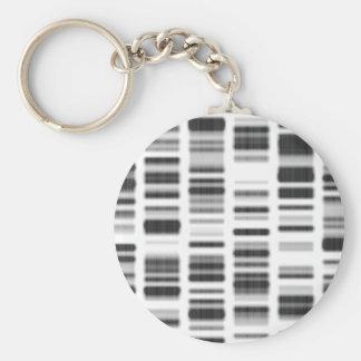 DNAのプリント- キーホルダー