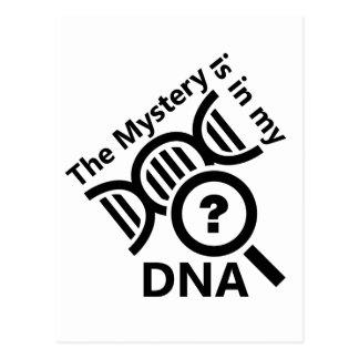 DNAのミステリー ポストカード