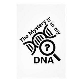 DNAのミステリー 便箋
