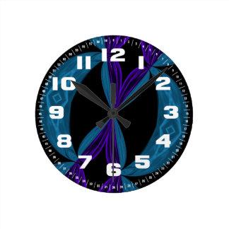 DNAのループ ラウンド壁時計