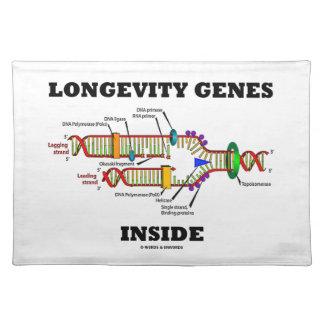 DNAの写しのユーモアの中の長寿の遺伝子 ランチョンマット