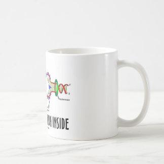 DNAの写しの内部(DNAの態度) コーヒーマグカップ