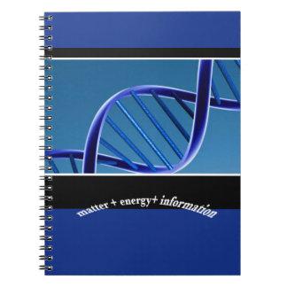 DNAの問題エネルギー情報 ノートブック