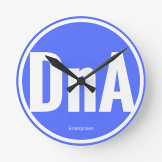 DNAの時計 ラウンド壁時計