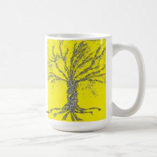 DNAの木か生命の樹 コーヒーマグカップ
