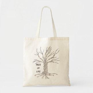 DNAの木か生命の樹 トートバッグ