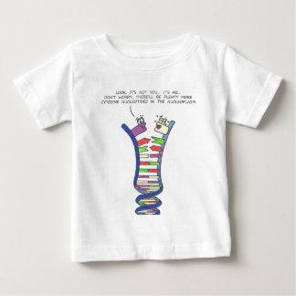DNAの破壊-幼児Tシャツ ベビーTシャツ