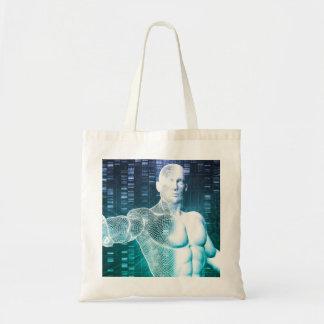 DNAの科学者エンジニアとの医学の技術 トートバッグ