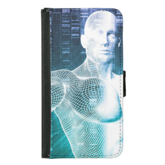 DNAの科学者エンジニアとの医学の技術 GALAXY S5 ウォレットケース