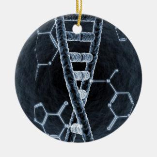 DNAの繊維 セラミックオーナメント