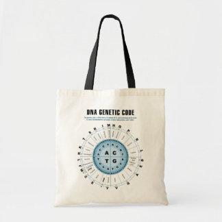 DNAの遺伝コードの図表 トートバッグ