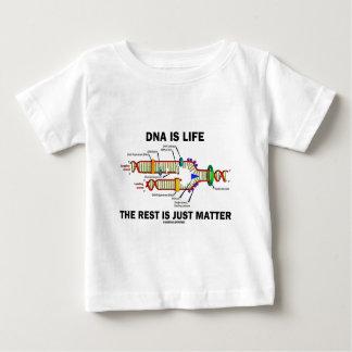 DNAは残りがちょうど問題(DNAの繊維)の生命です ベビーTシャツ