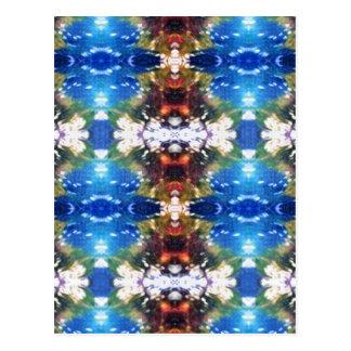 DNAパターン ポストカード