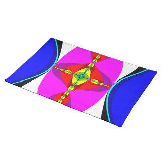 DNA -フラクタルの芸術 ランチョンマット
