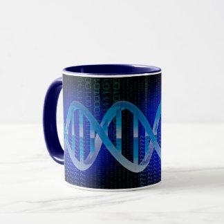 DNA IDの青 マグカップ