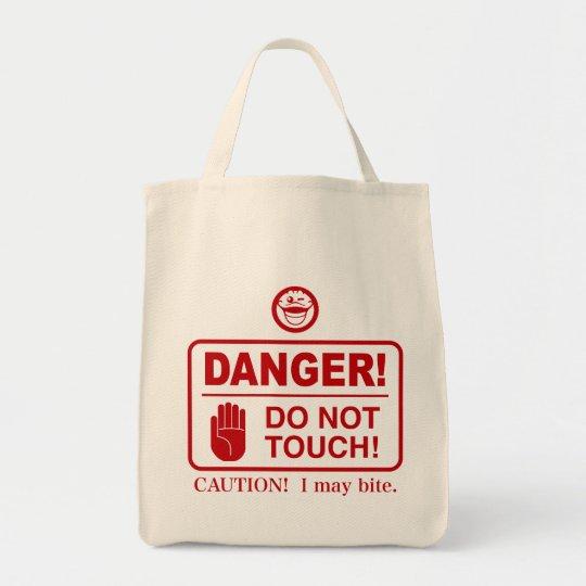 DO NOT TOUCH! トートバッグ