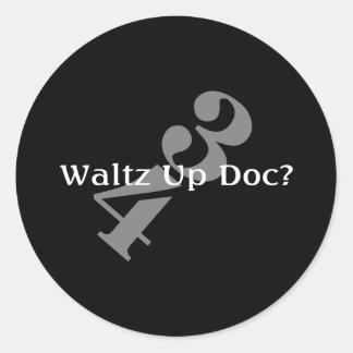 DOCの上のワルツ ラウンドシール