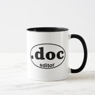 .DOCの編集者のコーヒー・マグ マグカップ