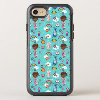 DOC McStuffins  心配のチームパターン オッターボックスシンメトリーiPhone 8/7 ケース