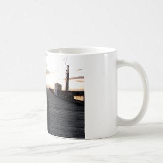 DockStretchSunset041609 コーヒーマグカップ